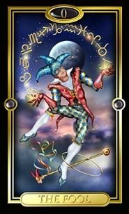 The Guilded Tarot - my first deck <3