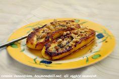 Fried plantain with honey and walnuts - @ CASA Veneracion