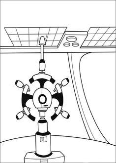Wall-E Tegninger til Farvelægning. Printbare Farvelægning for børn. Tegninger til udskriv og farve nº 27