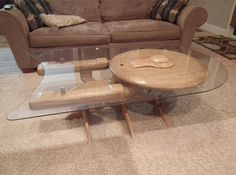 Star Trek Enterprise! This would be a cool coffee table to have!