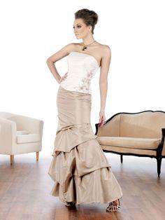 Glamorous sleeveless trumpet / mermaid party dress