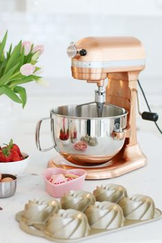 Copper Kitchen Aid Mixer | http://monikahibbs.com
