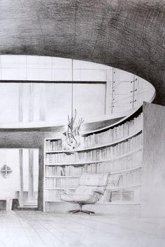 Eames' Lounge Chair by kaczor345.deviantart.com