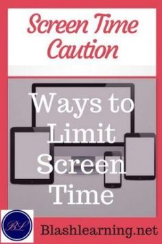 Screen Time Caution: Ways to Limit Screen Time. Find out how to limit your child's screen time. You will also read some wonderful suggestions on how to increase family time. Parenting Courses, Parenting Fail, Parenting Teens, Parenting Styles, Parenting Quotes, Raising Godly Children, Young Children, Christian Families, Christian Women