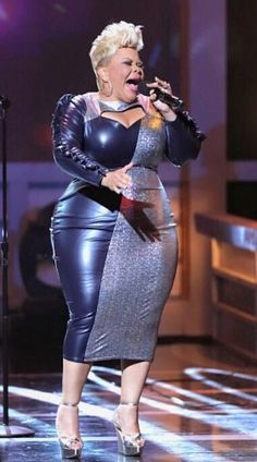 Tamela Mann is one of the best dressed ChunkyDivas I've seen! Her team knows her body and gets it right! Love this curvy Plussize girl who belts out some of Gospel's greatest hits! Added by TheChunkyDiva