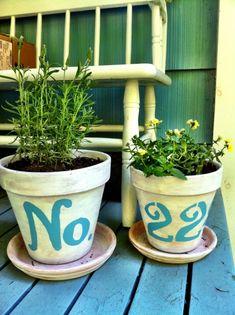 number pots
