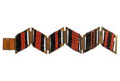 Art Deco Zigzag Bracelet on OneKingsLane.com
