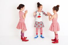 mimpi summer 2017 spanish group, so cute and playful! #red #dresses #mimpidress #mimpi #summer