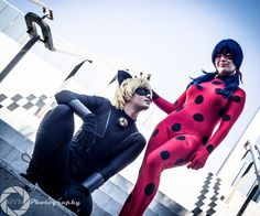 Cat Noir & Ladybug [Miraculous] Cat Noir & Ladybug Cosplayed by Happy Bean Cosplay, photographed by MVM Photography