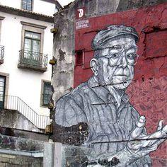 Porto, reine du street art