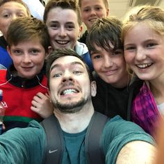 jack and fans. he is the most childish person in the whole Picture. and that's why I love him