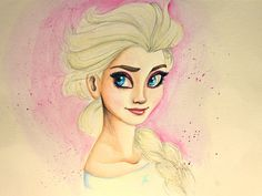 Disney's+Elsa+by+AnnieIsabel.deviantart.com+on+@deviantART