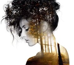 Double Exposure Portraits Where I Merge Two Worlds Into One | Bored Panda