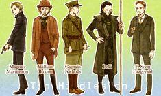 A variety of Tom Hiddleston by marzo20.deviantart.com on @deviantART