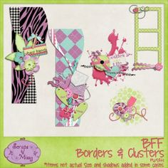 BFF Borders & Clusters