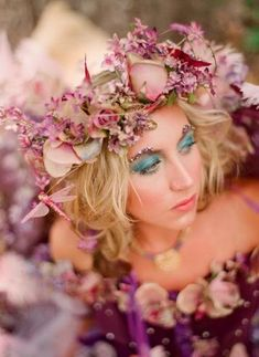 Style Inspiration: A Midsummer Night's Dream :  wedding central ca color schemes decor Fairy 4 Photobucket
