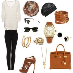 A fashion look from April 2012 featuring knit sweater, high-waisted jeans and alexander mcqueen shoes. Browse and shop related looks. Fall Winter Outfits, Autumn Winter Fashion, Winter Style, Fall Fashion, Airplane Outfits, Cute Outfits, Formal Outfits, Fashion Forward, Travel Outfits