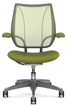 Humanscale Liberty task chair #taskchair for life. I love great chairs like this.