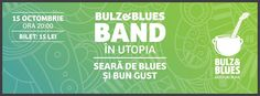Bulz&Bulz Band in Utopia Cafe. Seara de blues si bun gust