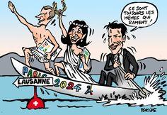 Placide - JO: Macron et Hidalgo VRP de Paris 2024