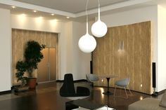 Meeting Room decorated with Valpaint Jungle Bark.
