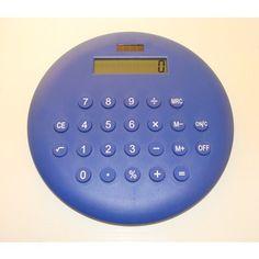 Calculadora confete gigante azul. - R$32,90