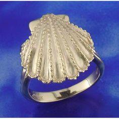 Steven Douglas 14K Scallop Shell Ring