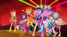 Bienvenido Al Show - MLP: Equestria Girls - Rainbow Rocks! [Español Latino]