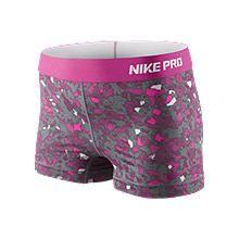 "Nike Pro 2.5"" Compression Shorts."