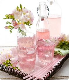 Pink lemonade❥ via #martablasco ❥ http://pinterest.com/martablasco/
