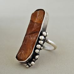 Honey Quartz set in sterling silver | Flickr - Photo Sharing!