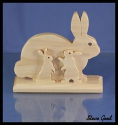 Happy Easter video from Patty, Kellie, Shane and you. - Happy Easter video from Patty, Kellie, Shane and you. Easter Art, Easter Crafts, Easter Bunny, Wood Projects, Woodworking Projects, Craft Projects, Woodworking Videos, Dyi Crafts, Wood Crafts
