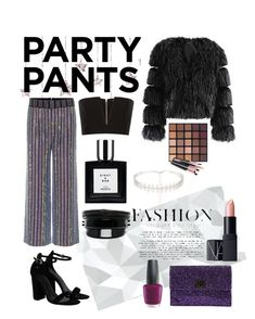 """NYE 2016"" by brooke-snyder-2 on Polyvore featuring Gucci, Balmain, Anya Hindmarch, NARS Cosmetics, Kamushki, Ruslan Baginskiy, OPI, NightOut, girlsnight and nye"