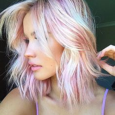 Pastel pink by @glamhairartist  #DreamHairWithMe