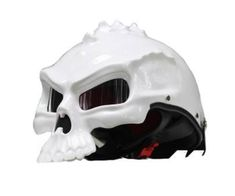 DOT Certified Skull Motorcycle Helmet