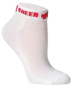 Microfiber Megaphone Cheer Adult Sock