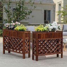 Convenience Concepts Planters & Potts Large Raised Patio Planter