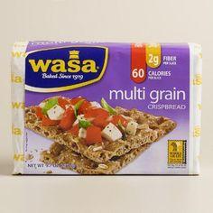 One of my favorite discoveries at WorldMarket.com: Wasa Multi Grain Crispbread, Set of 12