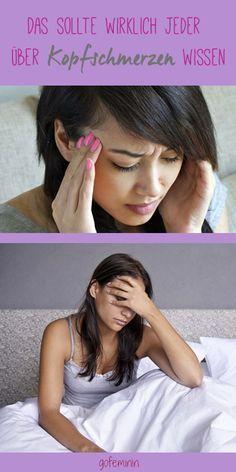 Ständig Kopfschmerzen? DAS solltest du unbedingt wissen!