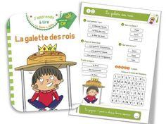 Rallye Sami et Julie : la suite : La galette des rois   Bout de Gomme Julie, Comics, Cycle 2, Albums, Corona, King Cakes, Classroom, Learn French, Learning