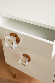 Lacquered Regency Desk - anthropologie.com