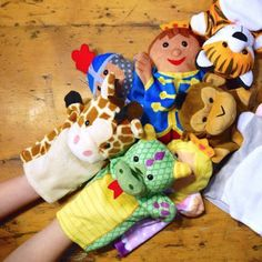 Creative Storytelling with Puppets: Pretend play is a great way to encourage… Play Therapy Activities, Language Activities, Educational Activities, Toddler Girl Gifts, Toddler Toys, Language Development, Child Development, Story Sack, Improve Communication Skills