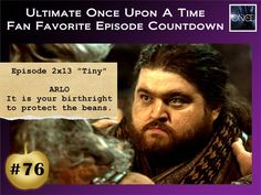 At #76 in our #OnceUponATime Fan Favorite Episode Countdown, 'Tiny'.