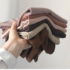 What's your all time favorite Hijab color? Shop these from India Quilt Fabric Photography, Clothing Photography, Wedding Photography, Muslim Fashion, Modest Fashion, Fashion Outfits, Street Hijab Fashion, Casual Hijab Outfit, Hijab Chic