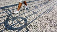 Resultado de imagem para calçada de cimento decorada