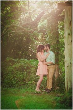 Knoxville Engagement Photography at Ijams Nature Center, by Wedding Photographer KLP Photography