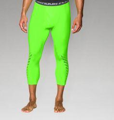 Men's UA HeatGear® Armour Exo ¾ Compression Leggings