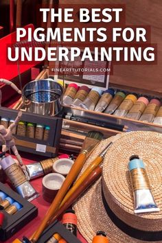 Which paint colours should you choose for underpainting?' From muted earth tones, to vibrant magenta, how can the colour of the underpainting affect the finished result? #imprimatura #underpainting #paintingtechniques #paintingtutorials #oilpainting #acrylicpainting #pigments #oilpaint #painter #paintingtutorials #arttutorials #artblog Painting Process, Painting Techniques, Earth Pigments, Autumn Scenes, Acrylic Painting Tutorials, Saturated Color, Cool Tones, Earth Tones, Art Blog