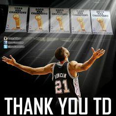 TD jersey retirement 12-18-16 #GSG #SpursFanForLife #GOAT