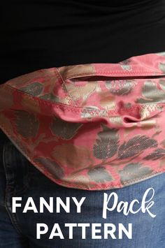 This is such a great make for anyone that loves fanny packs or bumbags! I love making DIY purses and bags, and have a real love of DIY fanny packs - this sewing pattern is a great one to make up for yourself or as a gift idea for bag lovers! Fanny Pack Pattern, Diy Purse, Summer Essentials, Pdf Sewing Patterns, Different Fabrics, Are You The One, Purses And Bags, Packing, Lovers